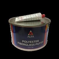 Alfa Полиэфирная шпатлевка со стекловолокном GLAS