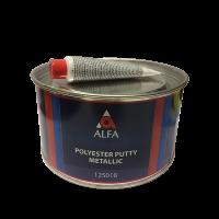Alfa Полиэфирная шпатлевка с частицами алюминия METALLIK 1,8 кг.