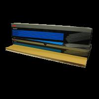 3М 255 золотые, Зерно P120, размер 70 х 425 мм